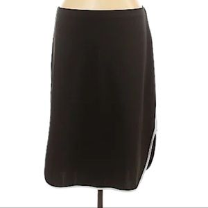 NWT- piperlime black/white jersey pencil skirt XS
